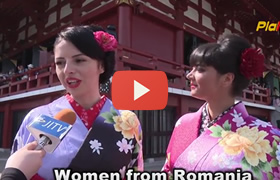 Kimono experience at Sanja Festival. Sanja Festival Interviews Part 6